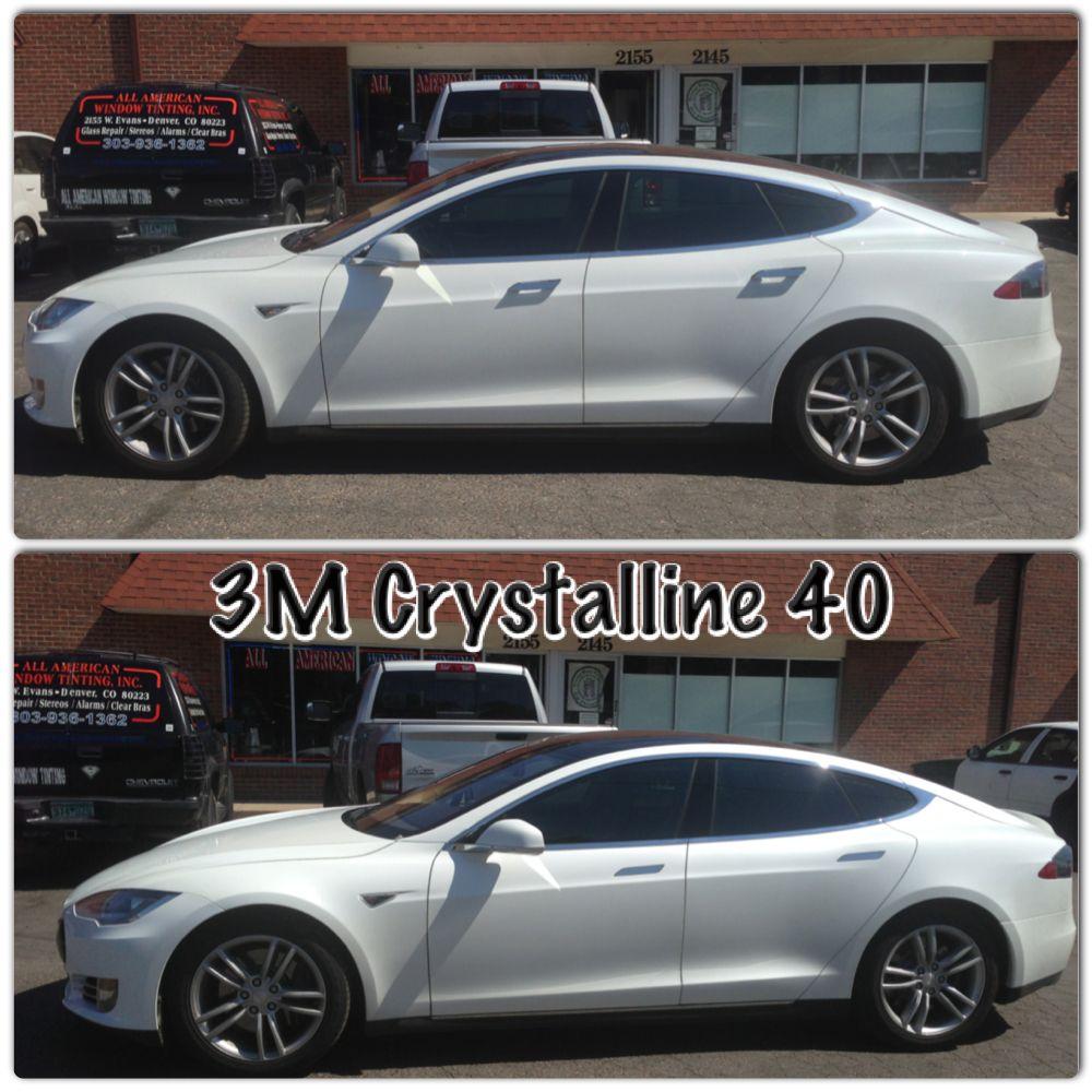 3m Crystalline 40 Tinted Windows Car Bmw Car