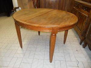 Tavolo Ovale ~ Grazioso tavolo ovale allungabile provenzale in rovere massello