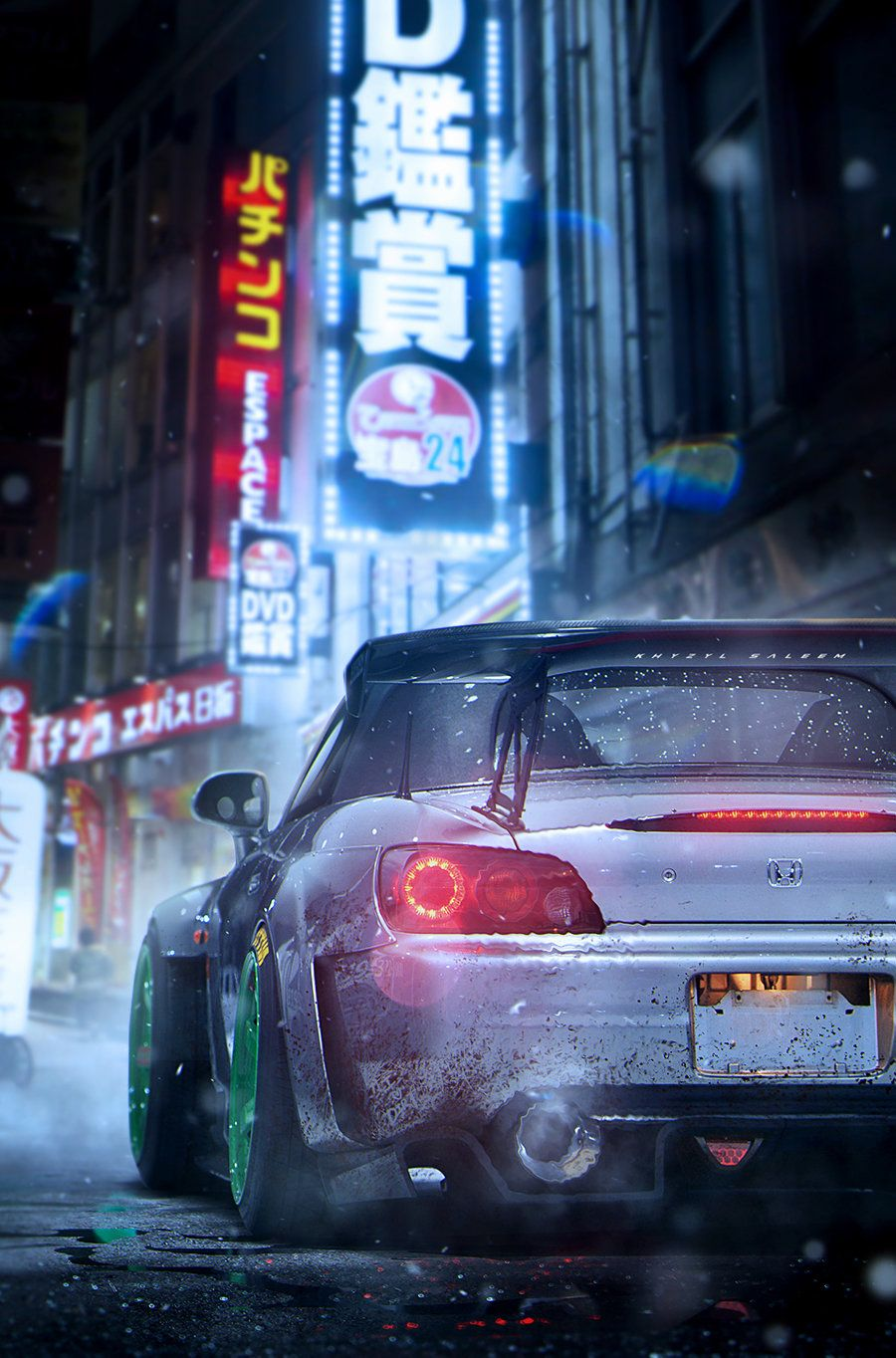 Artstation Honda S2000 Wallpaper Khyzyl Saleem Honda S2000