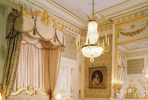 Paris  Htel Ritz  Style Baroque  Intrieurs  Elments de