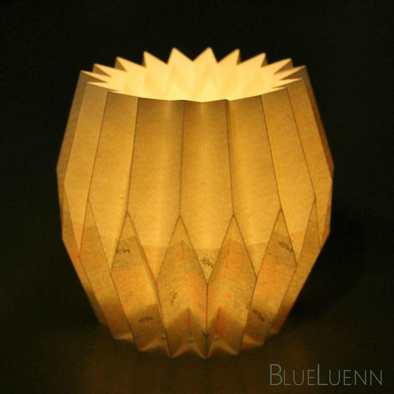 photophore origami fait main pinterest photophore origami et pliage. Black Bedroom Furniture Sets. Home Design Ideas
