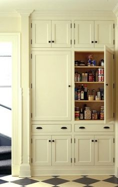 10 Kitchen Pantry Ideas for Your Home - Town & Country Living #kitchenpantrycabinets