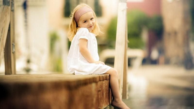 Download Free Small Cute Babies Wallpapers The Quotes Land: Cute Girl In White Dress