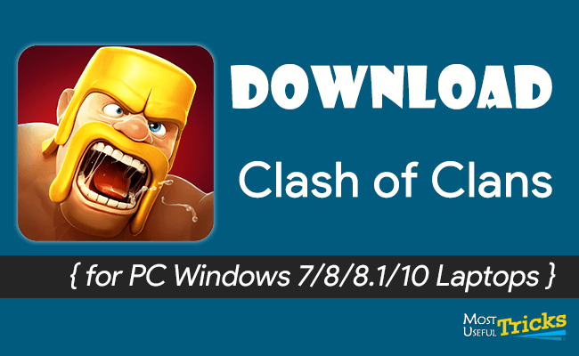 download clash of clans for pc windows 10