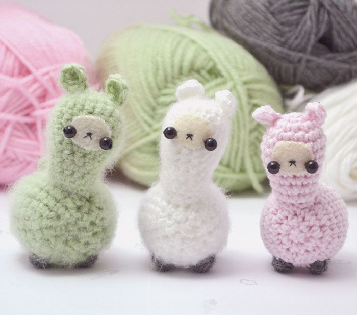 Miniature Crochet Animals By Mohustore | Crochet animals, Amigurumi ...