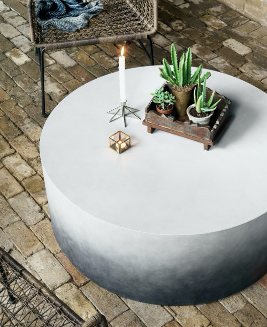 Sheridan Ombre Coffee Table Concrete Coffee Table Diy Coffee