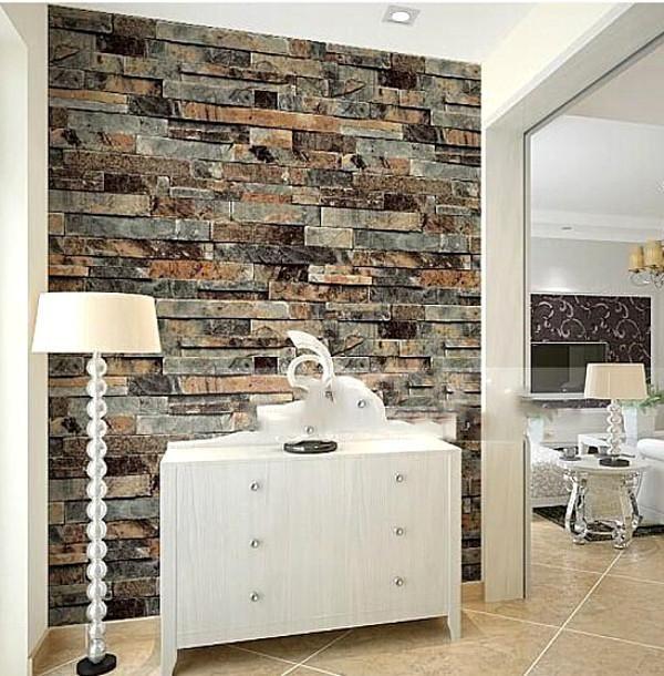 Usage Administration Commerce Entertainment Household Function Waterproof Moisture Pr Brick Wallpaper Dining Room Brick Effect Wallpaper Brick Wall Wallpaper