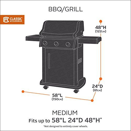 The Belltown Storage Saver BBQ Grill Cover System Includes