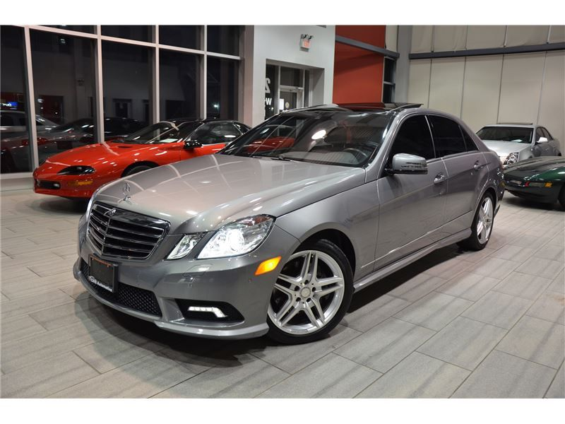 2011 Mercedes Benz E Class E350 4matic W212 With Only 80 429 Km