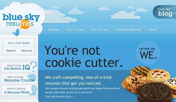 70 Creative Artistic Websites For 2010 Splashnology Blue - resume help websites