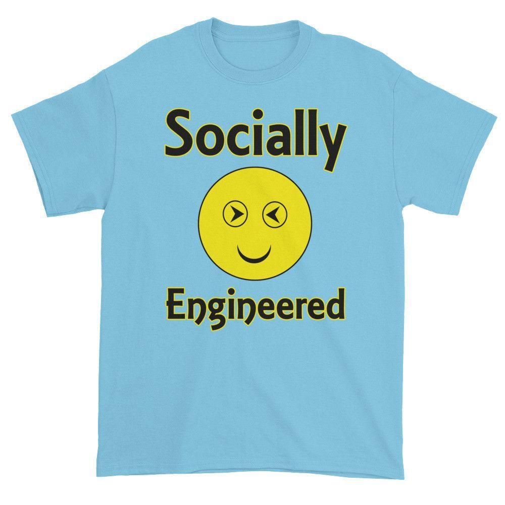 Socially Engineered Unisex Short Sleeve T-shirt 2XL-5XL