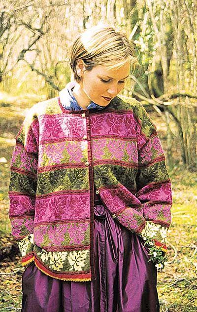 Photo of Modell 166, her er dette mønsteret med wol te bestellen.