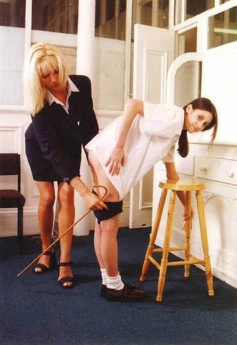 Pussy Caning