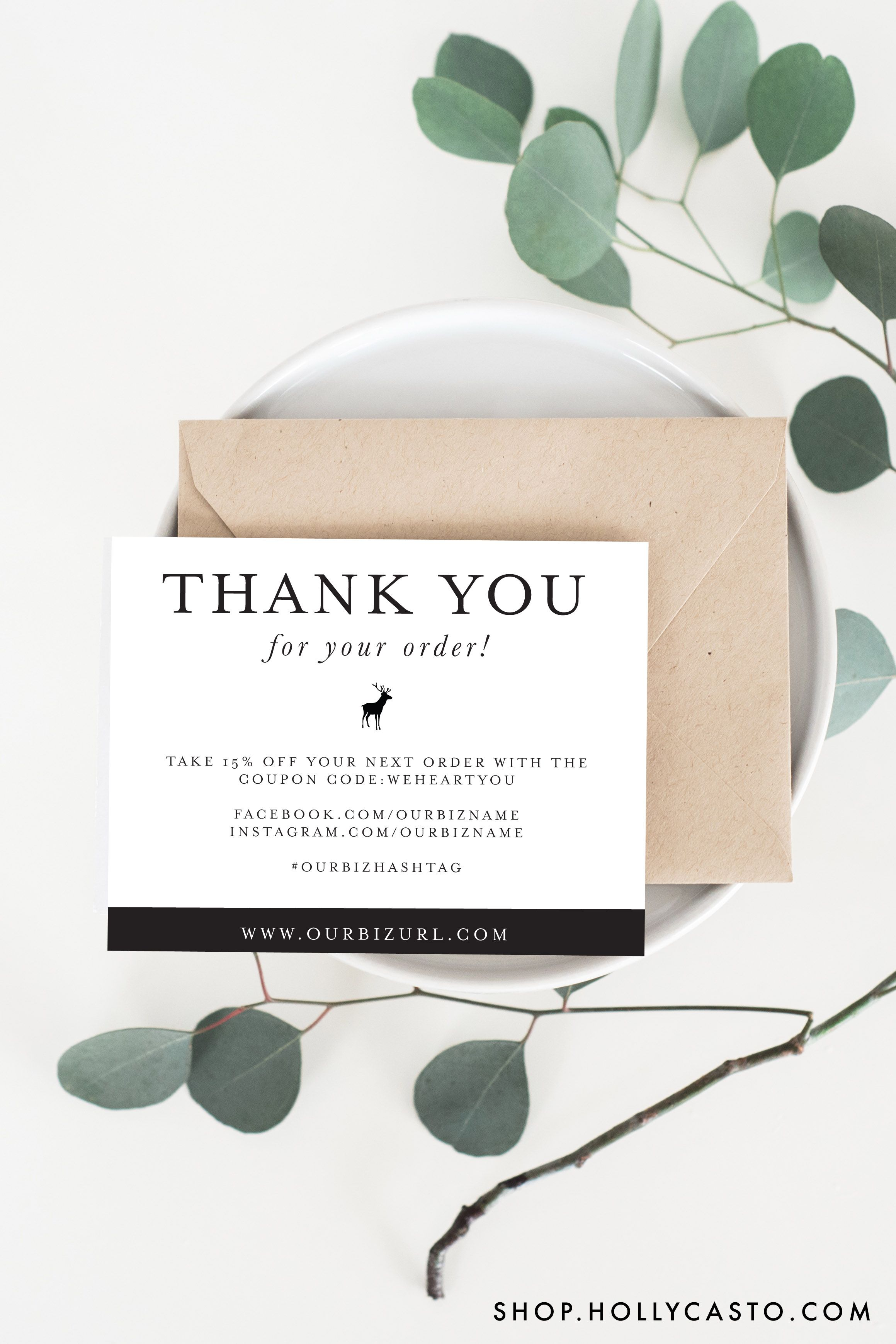 Business thank you cards instant download brightly bold business thank you cards instant download brightly bold business packaging ideas and etsy alramifo Gallery