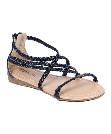 Love this Black Pinky Sandal on #zulily! #zulilyfinds