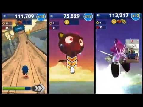 Sonic Dash Classic Sonic Chococat Espio Amy Sonic Dash Classic Sonic Dash