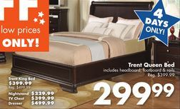 Trent Queen Bed From Big Lots 299 99 100 Off Gt Queen