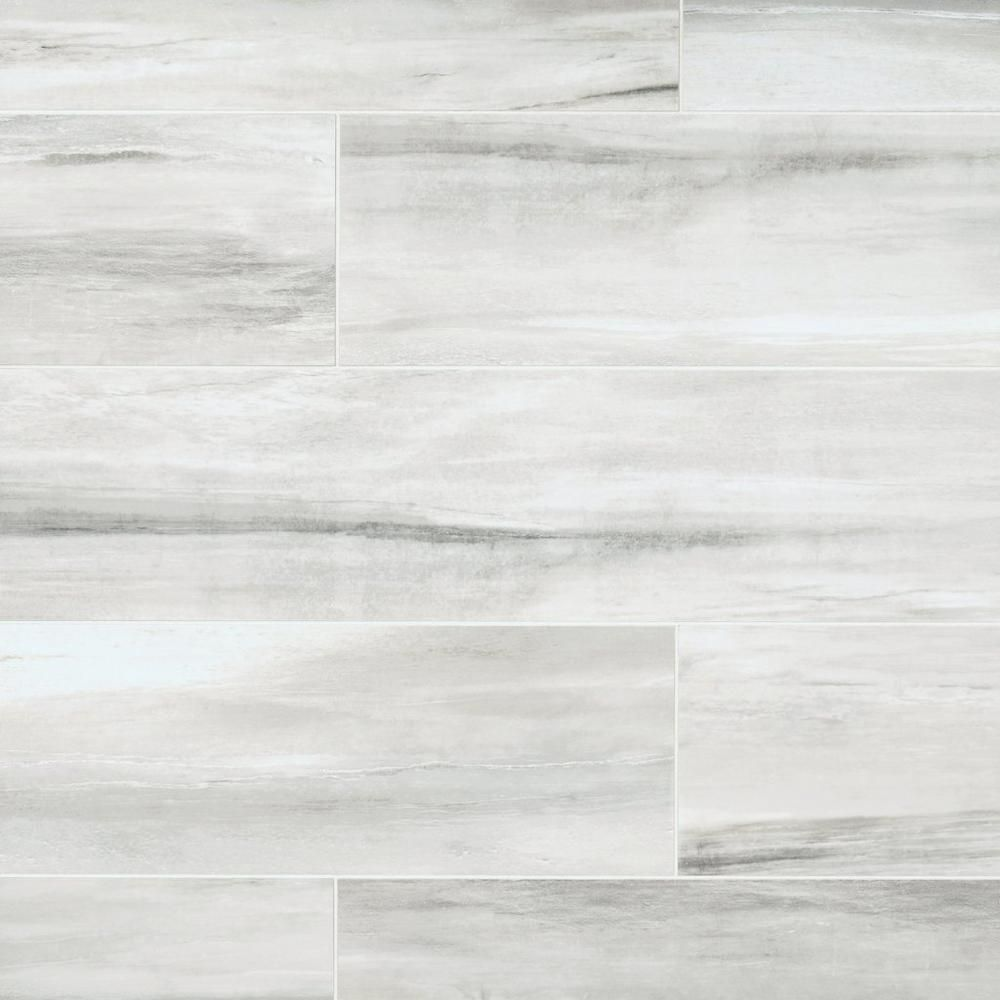 Solano Ivory White Linear Porcelain Tile Porcelain Tile Porch Tile Flooring