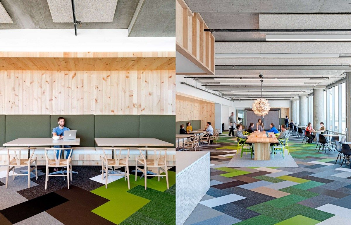 cisco offices studio. Bolon Floor Tiles In The Office Of Cisco Meraki San Francisco, USA Offices Studio T