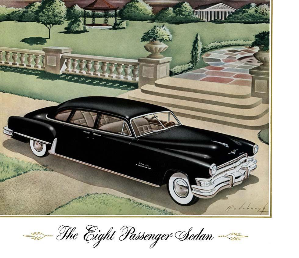 1951 chrysler imperial eight passenger sedan