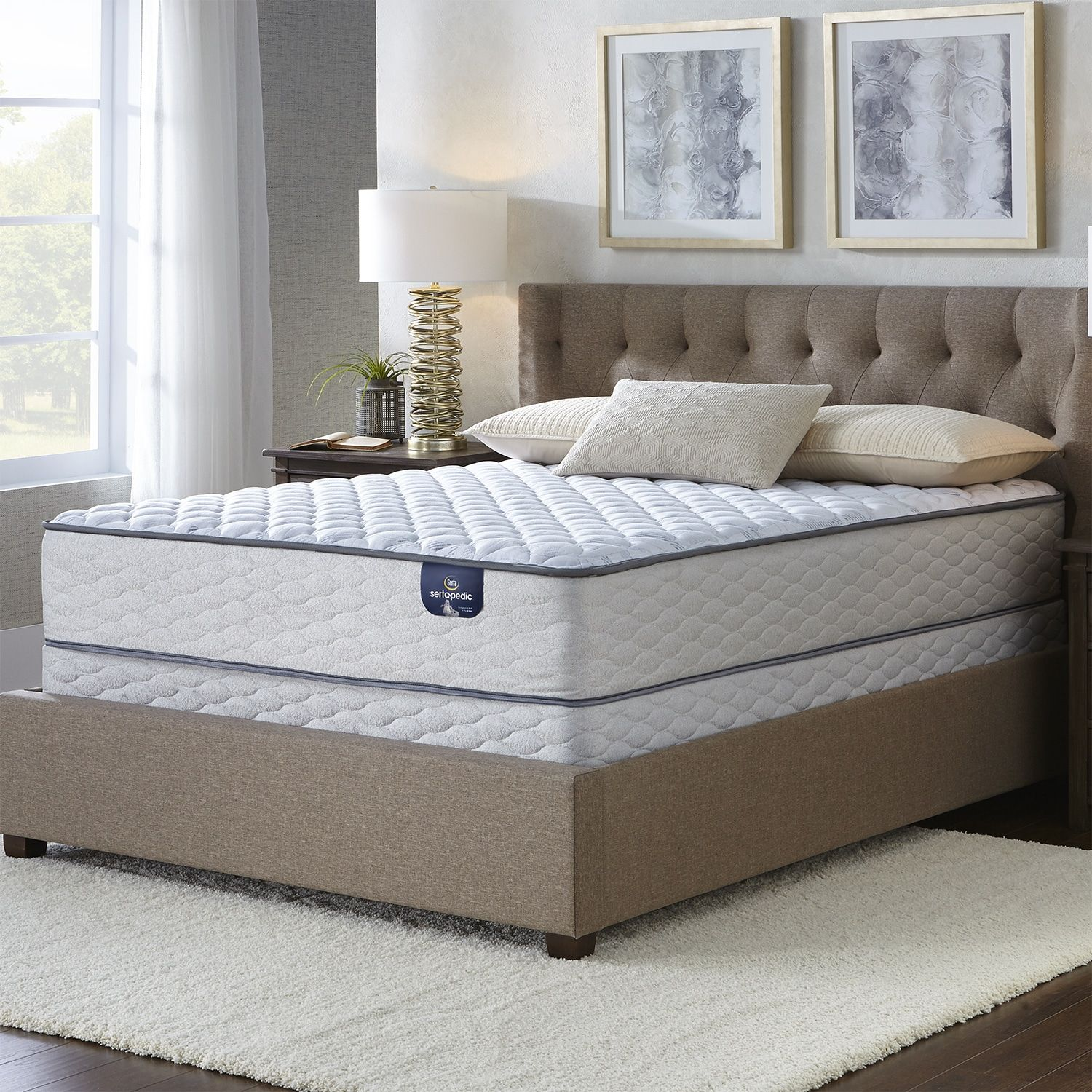 serta faircrest 10 5 inch firm twin xl size mattress twin xl