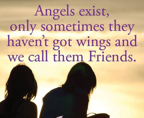 true friends are angels