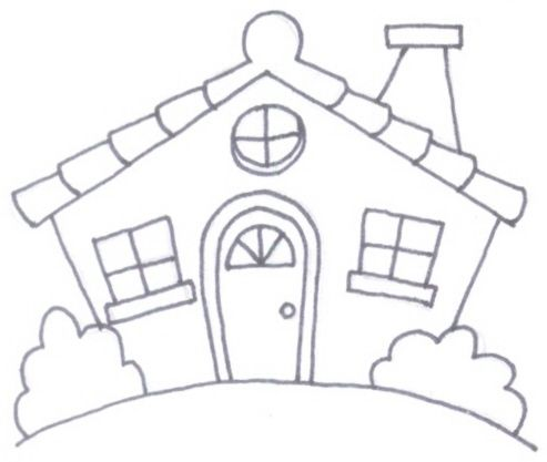 La trapera de amelia patchwork patrones de casitas - Casas de patchwork ...