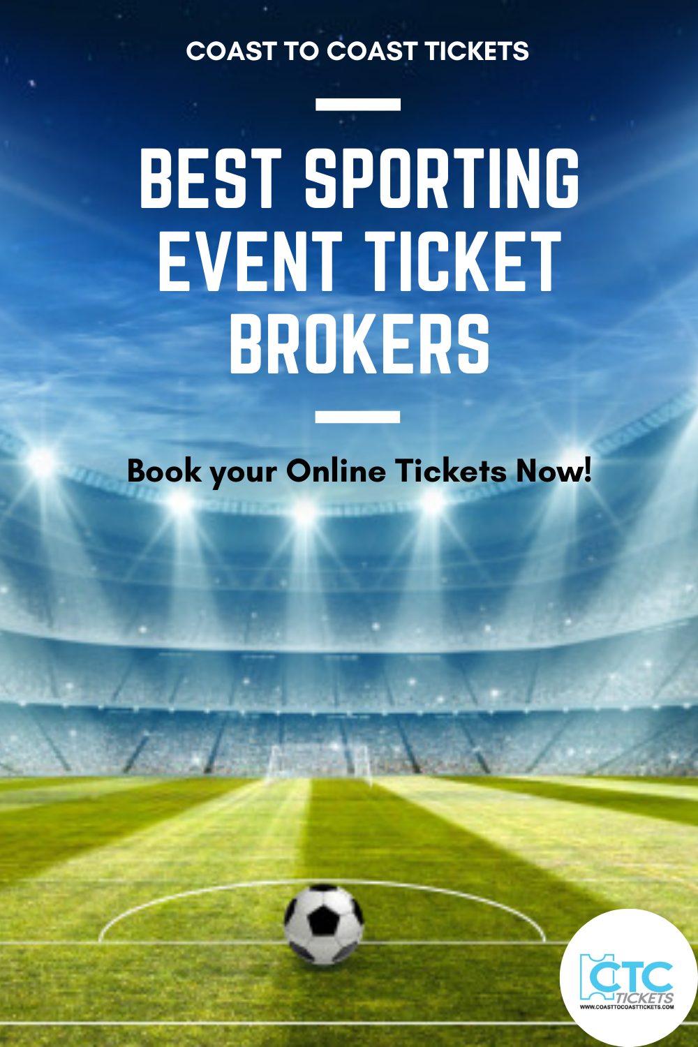 For sports lovers, now wait is over! Just browse the listing of sports events from our official website and book your seat for a live match. We provide tickets at the cheapest rate.  Coast to Coast Tickets is the best Nfl ticket broker agency. All tickets are 100% guaranteed. Trust us and enjoy your favorite game.#onlineticket #ticketbrokers #livematch #sports #bookticket #footballmatch #chicago #coasttocoasttickets #tickets #buytickets #nfl #nhlmatch #cheaptickets #musicevent #liveshows
