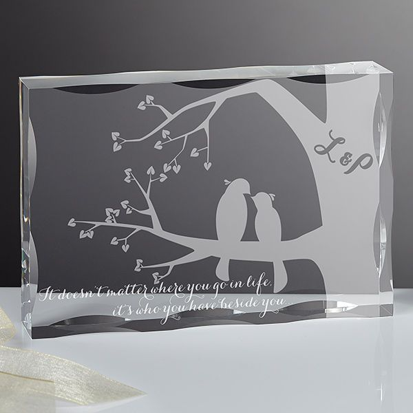 15189 - Love Birds Personalized Keepsake