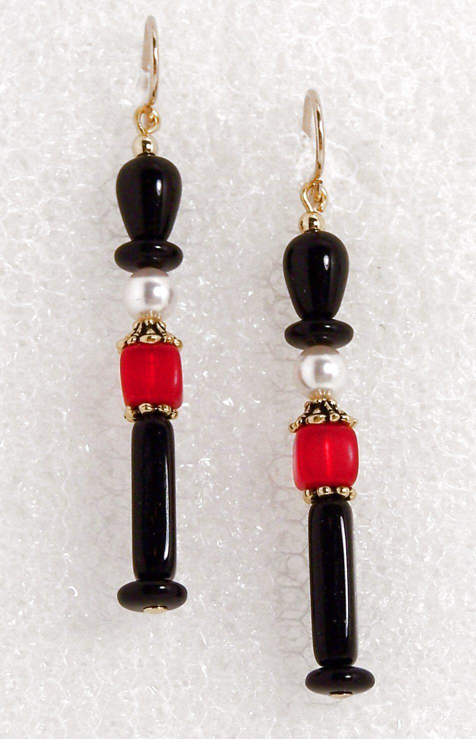 Unique decoration: beads, earrings 77