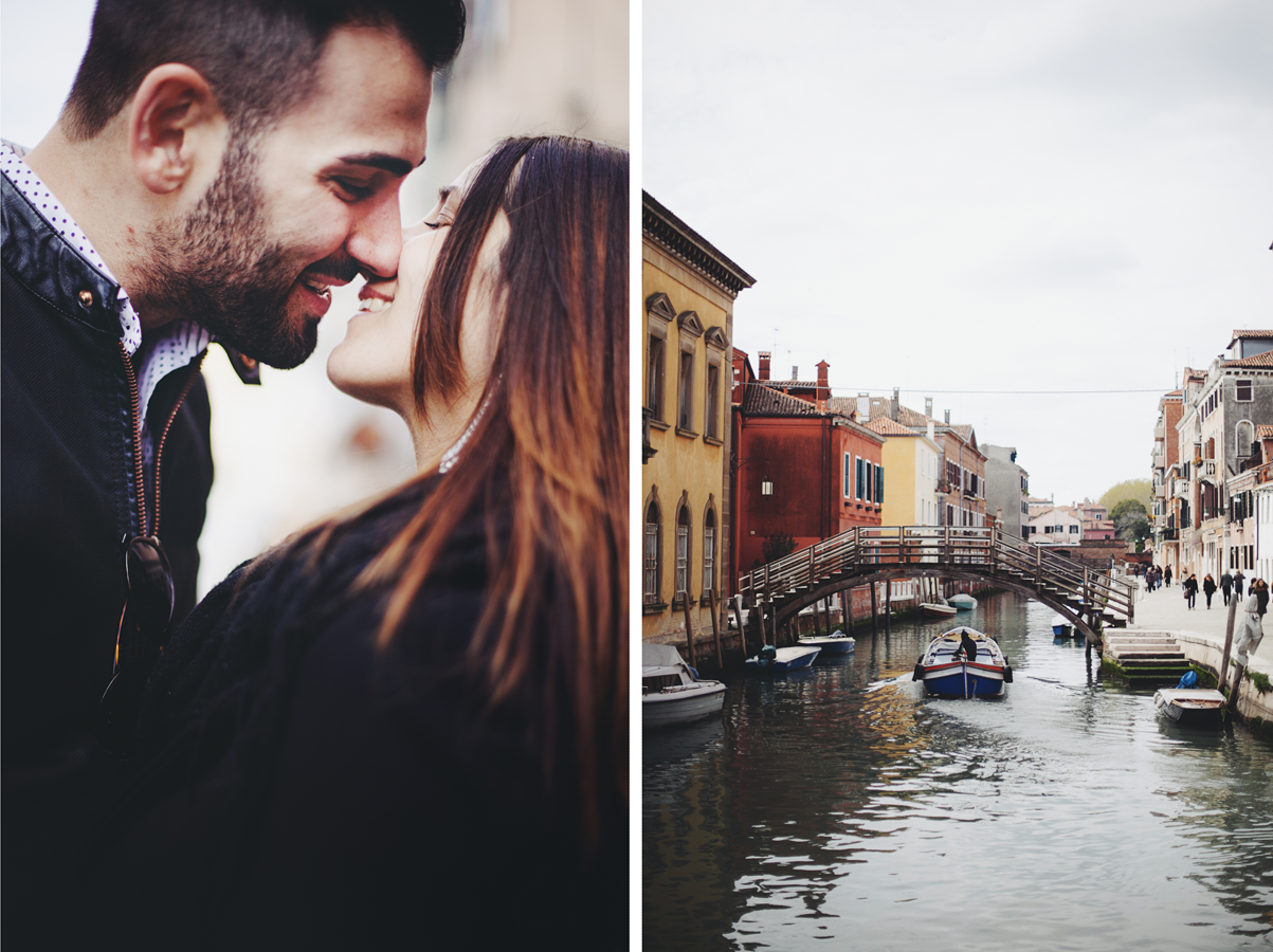 Fotografia di coppia a Venezia