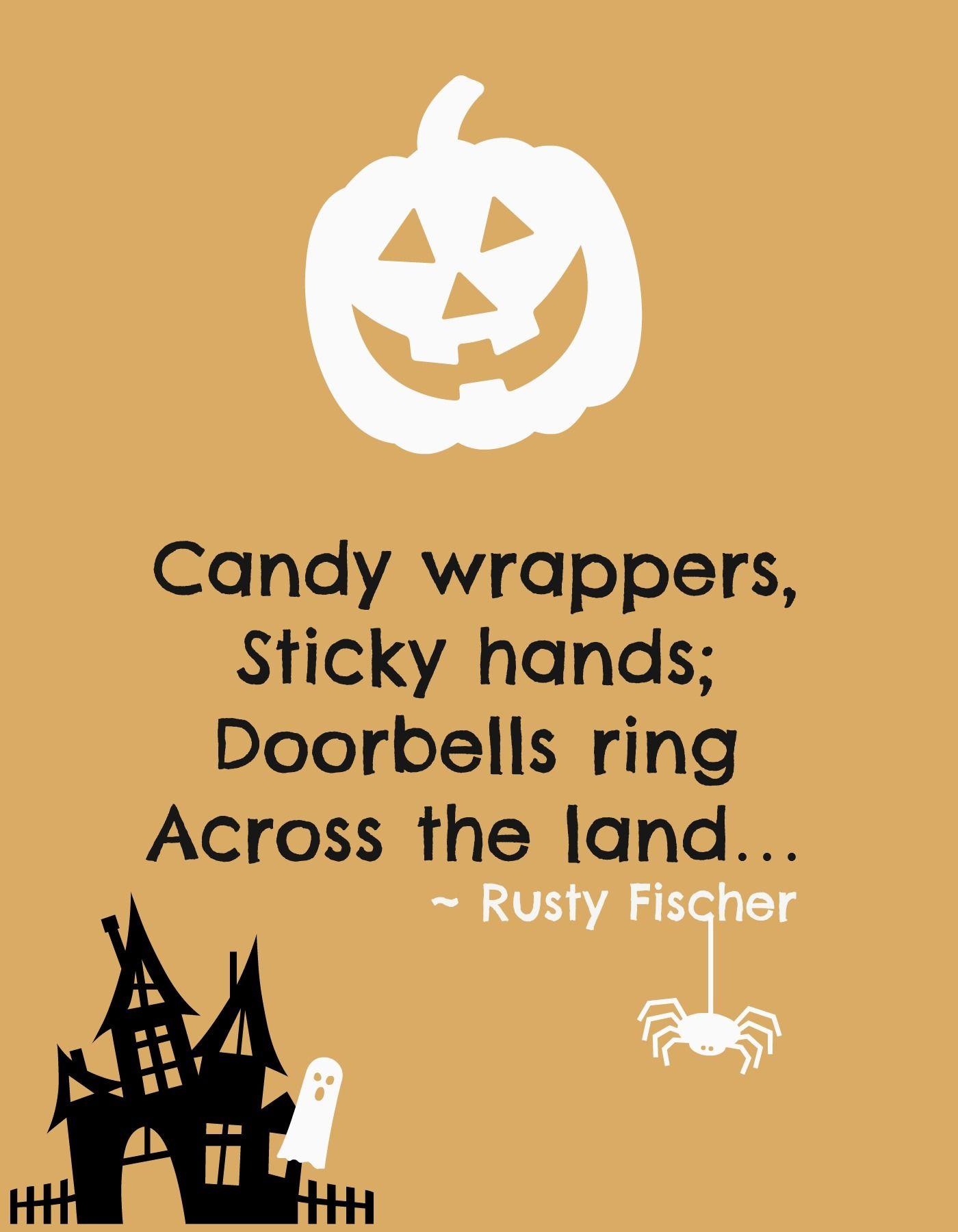 doorbells a halloween poem | halloweeny screamy! halloween poems