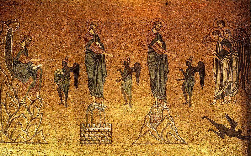 temptation of Jesus | ... Store Speaks: First Sunday of Lent - Temptation of Jesus in the Desert