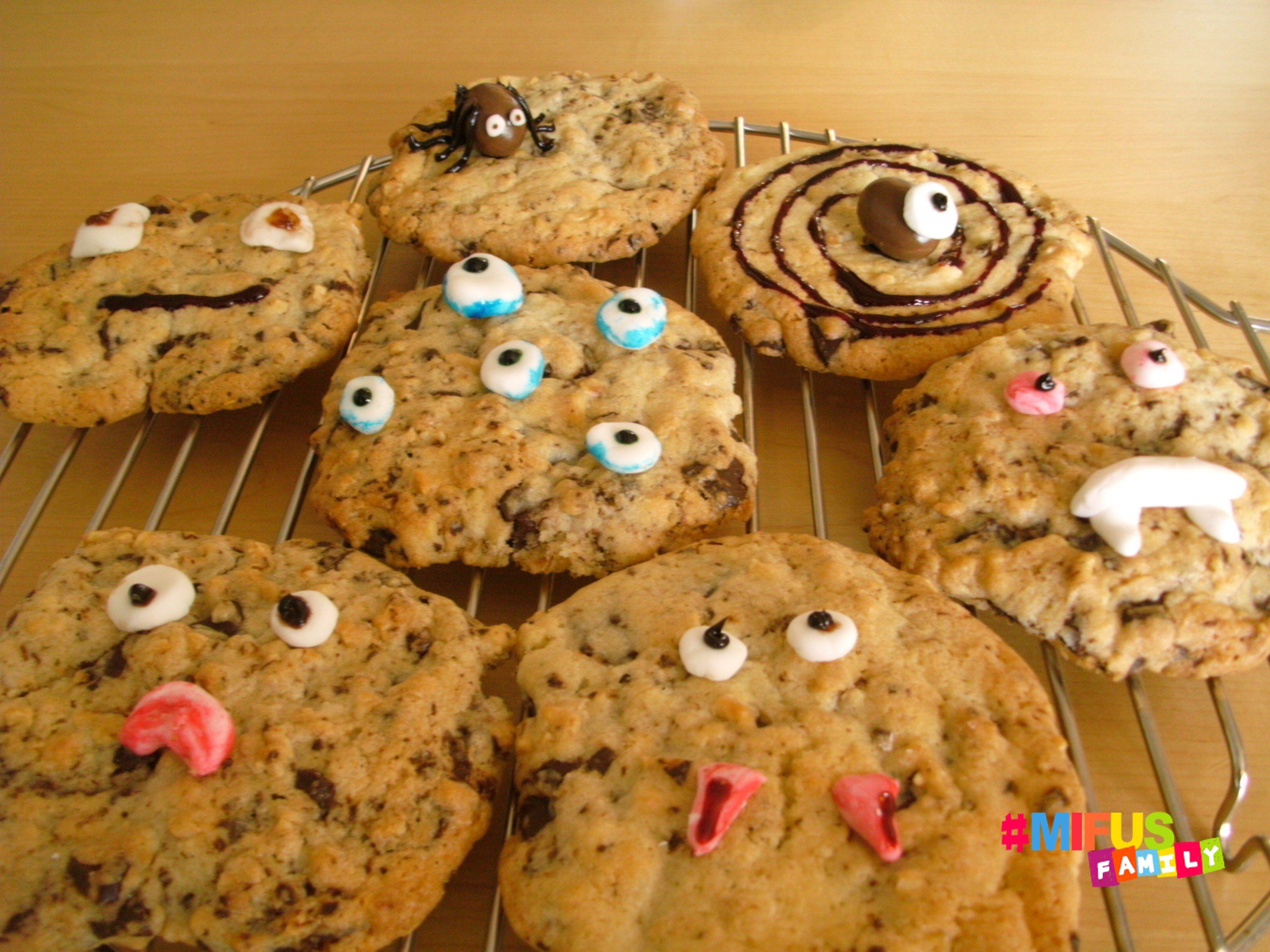 Rezept für Halloween Cookies einfach und lecker