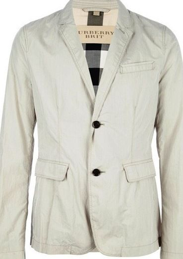 Diva-Dealz - BURBERRY Jacket with Check trim