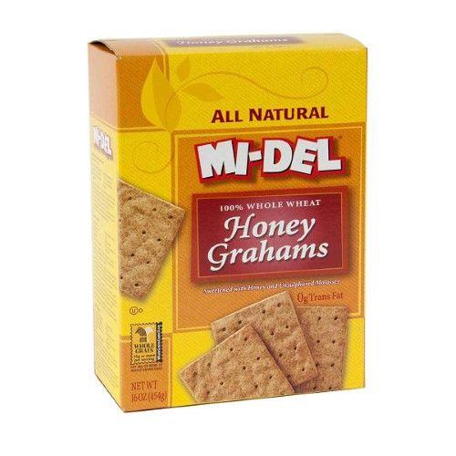 Mi-Del Honey Grahams 16 Oz, Multicolor