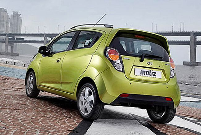 Green Daewoo Matiz 2013 Car Wallpaper Car Picture Collection