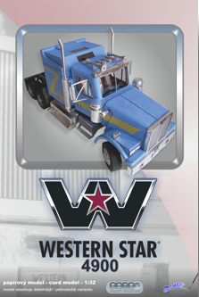 Western Star Truck Model Western Star Trucks Paper Model Car