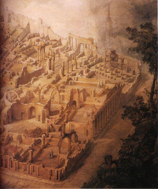 Joseph Gandy, Bank of England as ruin