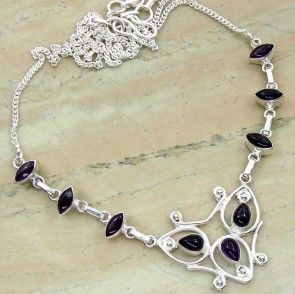 6.72ctw Genuine Amethyst & .925 Sterling Silver Plated Brass Necklace (SJHN0082ACAB) #silvernecklace #silvernecklacesforwomen #necklacesilver #necklacependants #necklacejewelry #sterlingsilvernecklace #jewelrynecklaces #handmadenecklaces #silvernecklaces #longsilvernecklace #personalizednecklaces #womensnecklace #silvernecklaceformen #menssilvernecklace #mennecklaces #mensnecklaces #gemstonenecklace #gemstonenecklaces Buy Now…