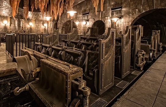 Diagon Alley Escape from Gingotts Bank