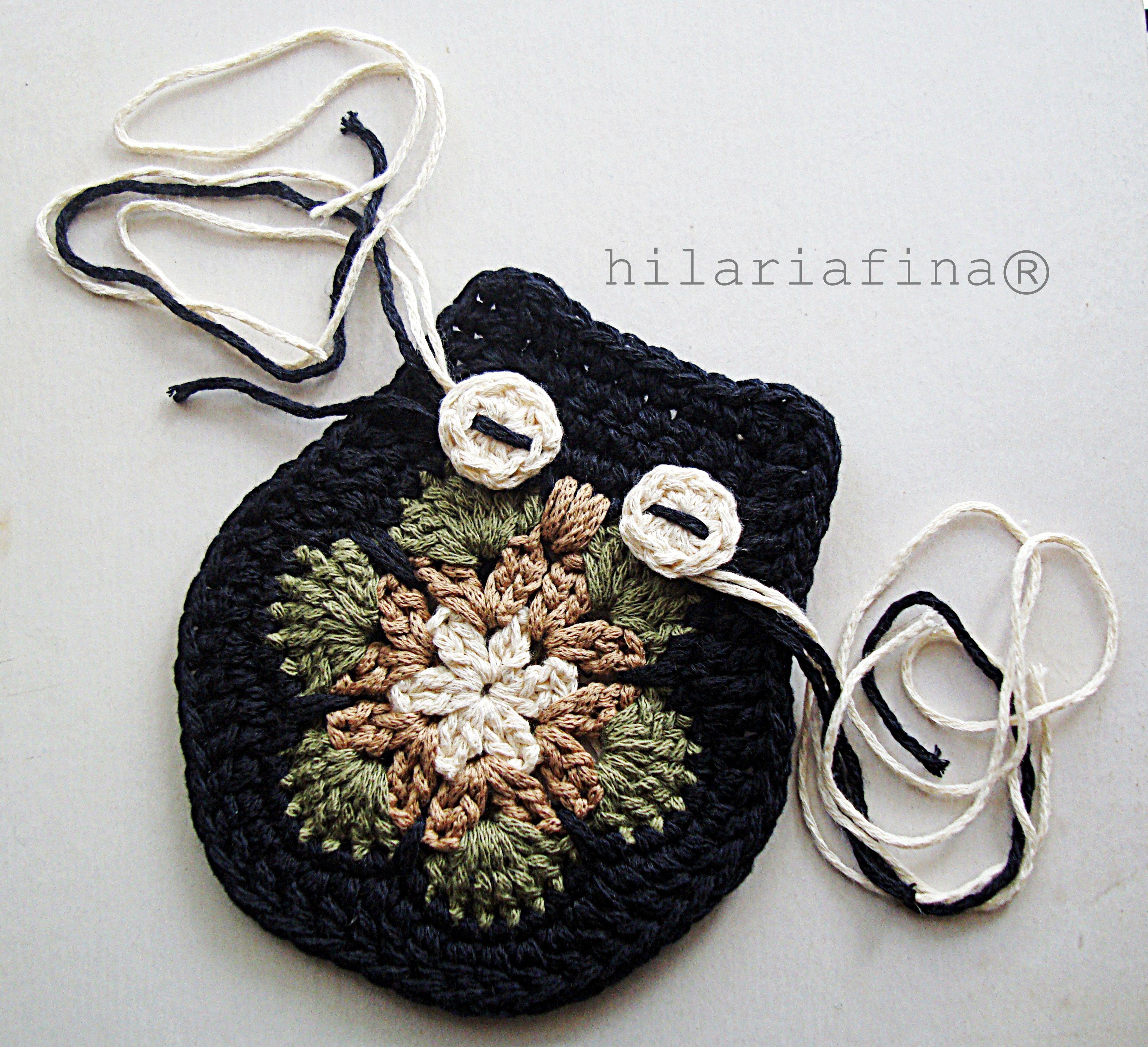 by hf Crochet African Flower & Owl ❥ | Crochet | Pinterest | Flores ...