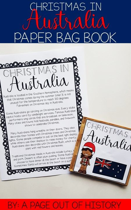 Christmas In Australia Book.Christmas In Australia Christmas Around The World Paper