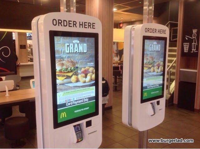 McDonald's Touch Screen Ordering | kiosk | Kiosk, Kiosk