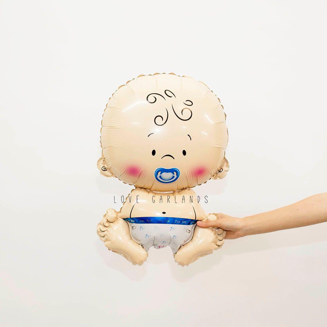 Baby Boy Balloon, Baby Boy Shower Balloon, Baby Balloon, Blue Baby Shower Balloons, Baby Boy Shower Decor, Gender Reveal Balloons by LoveGarlands on Etsy https://www.etsy.com/listing/469498089/baby-boy-balloon-baby-boy-shower-balloon