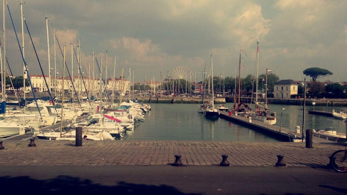 Le vieux port à La Rochelle.❤