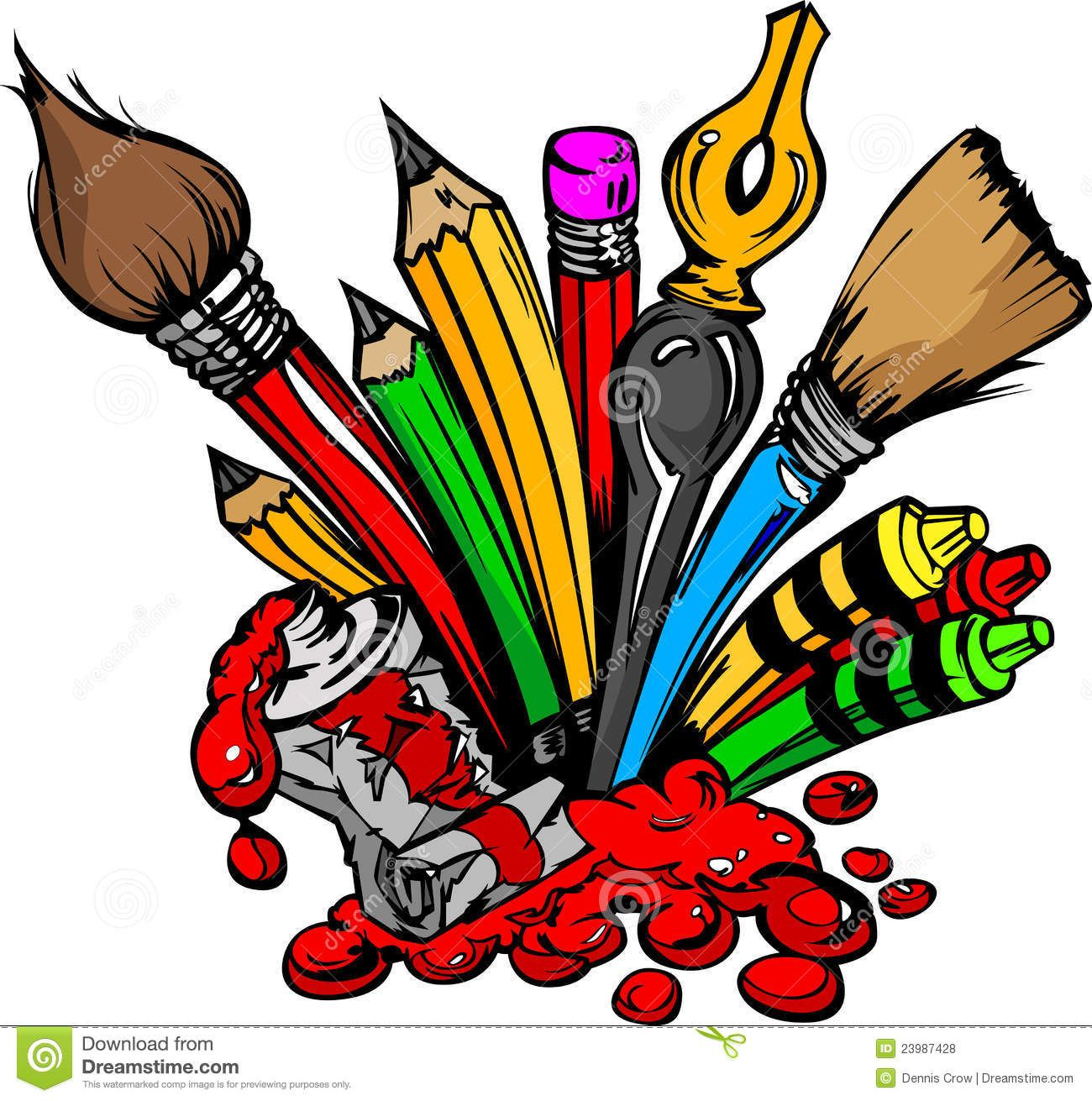 Art Supplies Images Clipart Panda Free Clipart Images Free