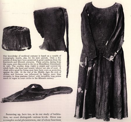 14th c. garb - (Herjolfnes)  http://laracorsets.com/images/Fashion_History_Images/1350.5.jpg