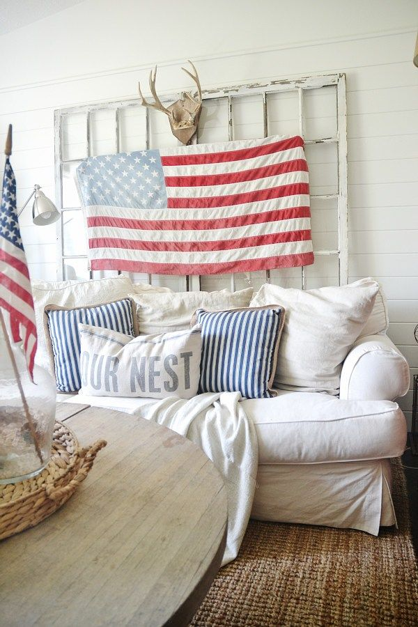 Superieur Home Decor   Simple Ways To Bring Of July Decor Into Your House Without  Breaking The Bank.