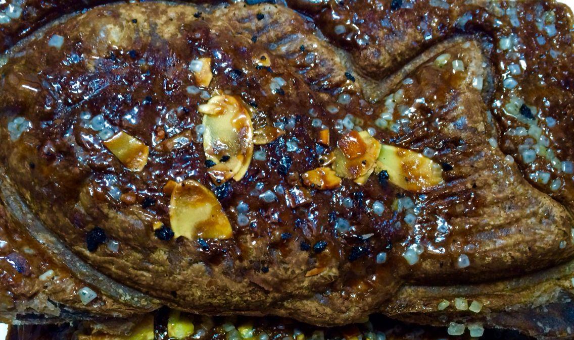 クロワッサンチョコ鯛焼き